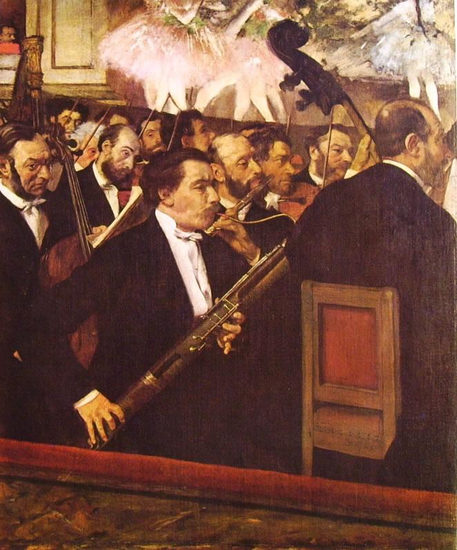 Edgar Degas: Orchestra dell'Opera (Museo d'Orsay) di Edgar Degas