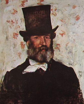 Degas: Ritratto di Leopold Levert