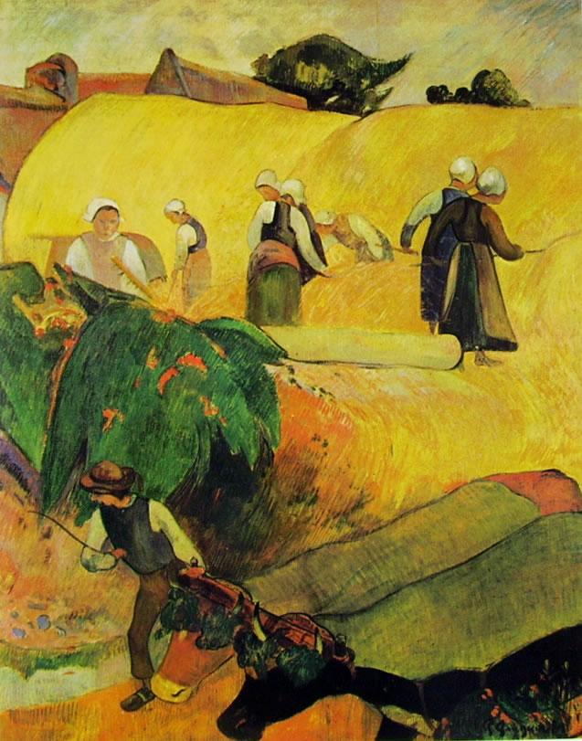 Paul Gauguin: Mietitori (Courtauld Institute Galleries)