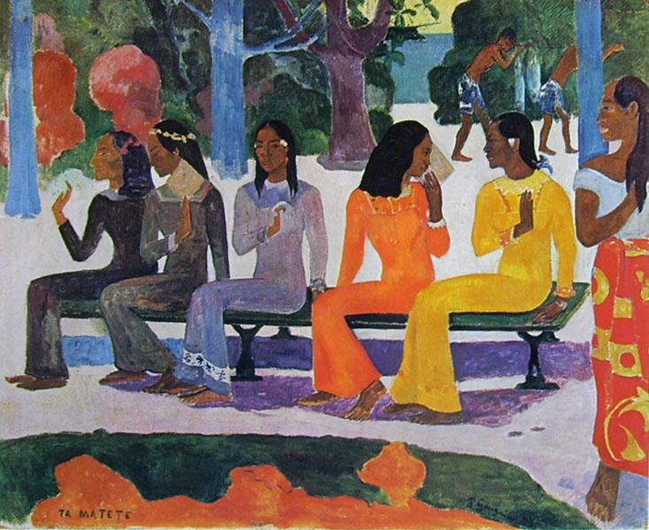 Paul Gauguin: Ta Matete