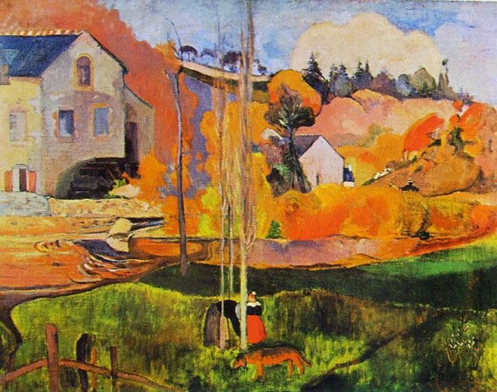Gauguin: Il Mulino David a Pont-Aven