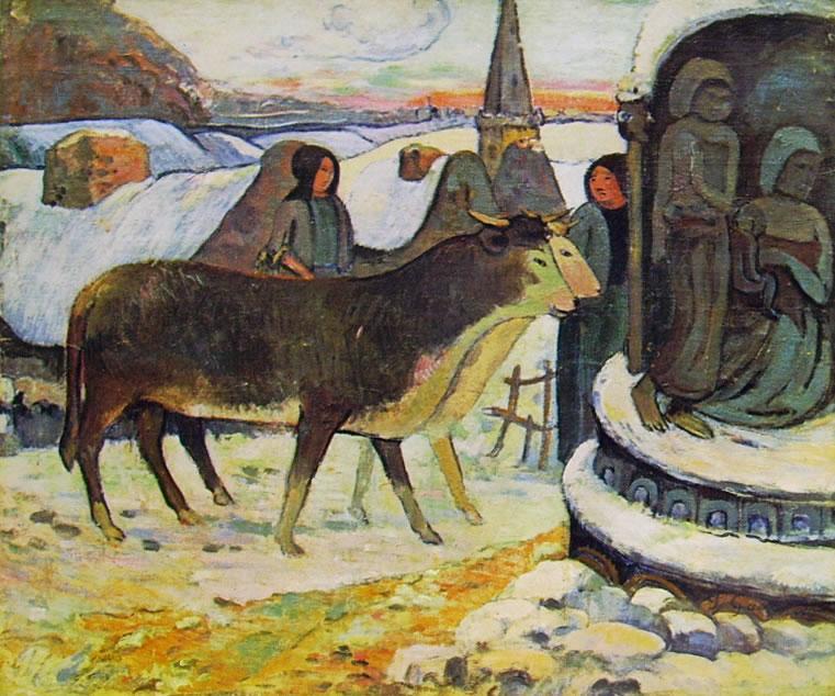 Gauguin: Notte di Natale (New York Small)