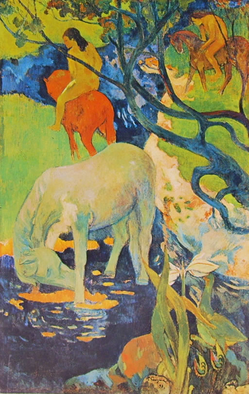 Gauguin: Cavallo bianco (Museo d'Orsay)