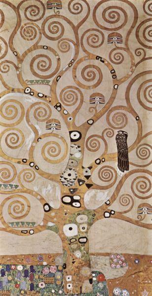 Klimt: Albero della vita 1905-9