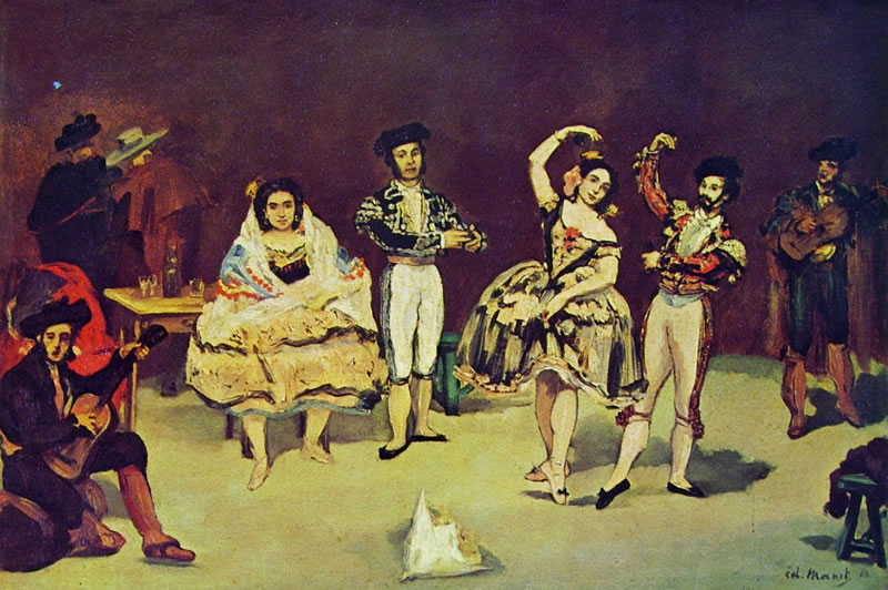 Edouard Manet: Il balletto spagnolo (Phillips Collection)