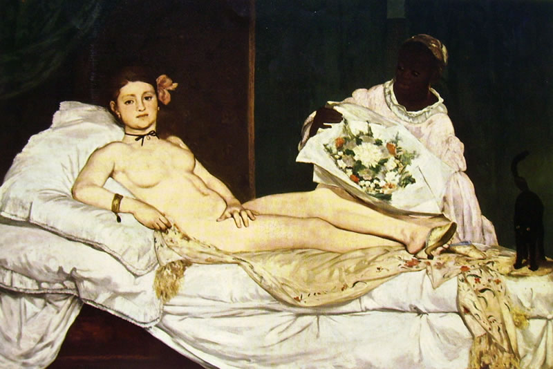 Edouard Manet: Olimpia (Museo d'Orsay)