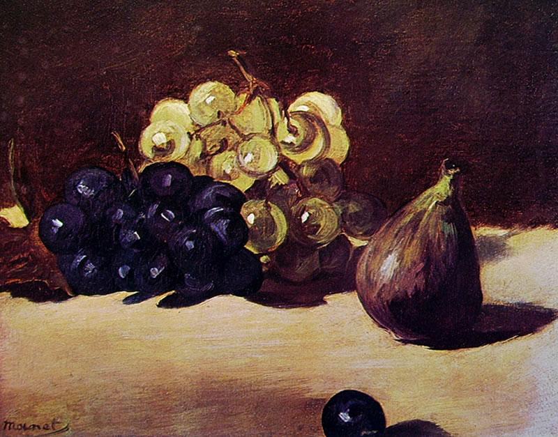 Edouard Manet: Uva e fichi