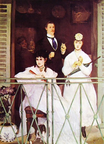 Edouard Manet: Il balcone (Museo d'Orsay)