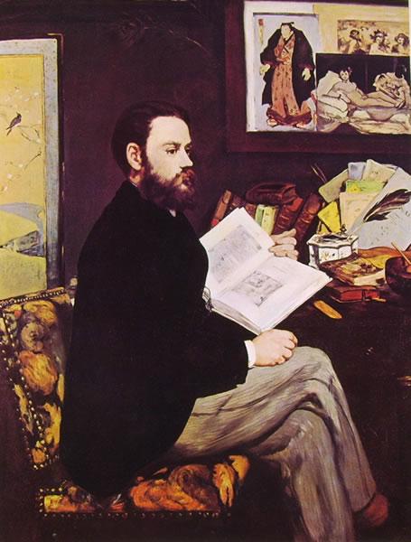 Edouard Manet: Ritratto di Emile Zola
