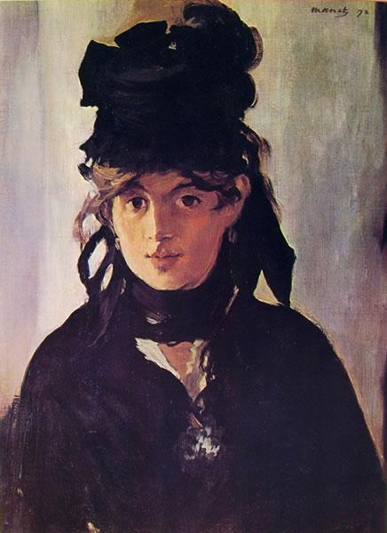 Edouard Manet: Ritratto di Berthe Morisot