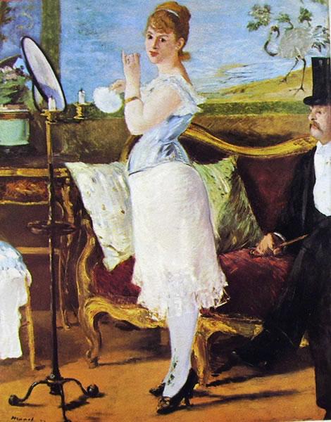 Edouard Manet: Nana (Kunsthalle)