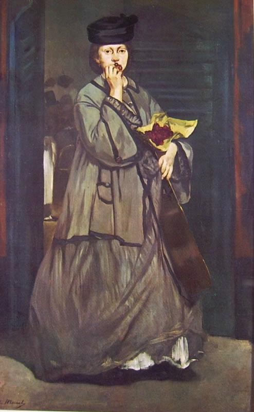 Edouard Manet: Suonatrice ambulante