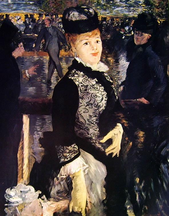 Edouard Manet: Al pattinaggio