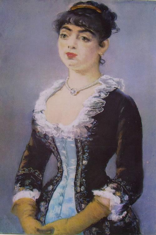 Edouard Manet: Ritratto della signora Levy
