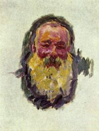 Monet - Autoritratto