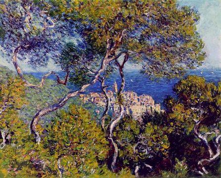 Claude Monet - Veduta di Bordighera (Art Institute Chicago)