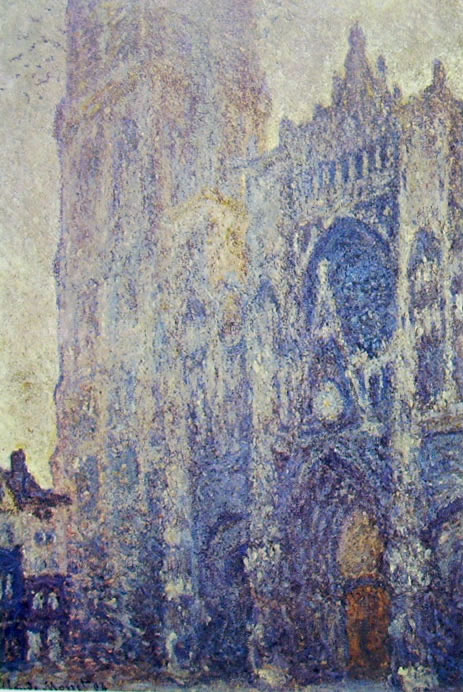 La Cattedrale di Rouen con effetto di luce mattutina, 1894, 106 x 73 cm. Musée d'Orsay Parigi