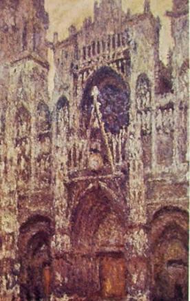 La Cattedrale di Rouen con tempo grigio, 1894, 100 x 65, Musée d'Orsay Parigi