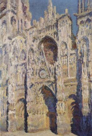 Claude Monet - La Cattedrale di Rouen in pieno sole