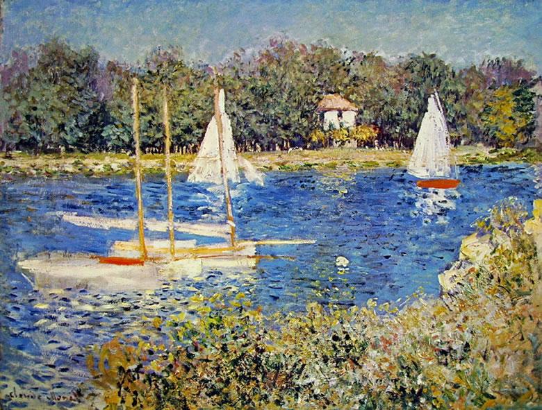 Claude Monet: Bacino ad Argentuil