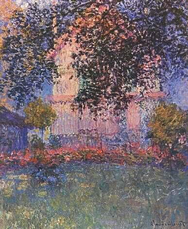 La casa di Monet ad Argenteuil, cm 63 x 52.