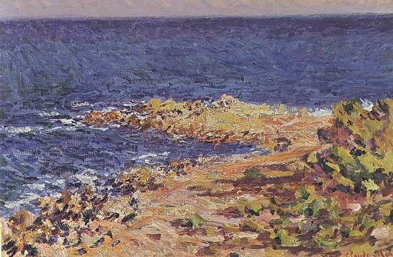 Claude Monet - Mare presso Antibes