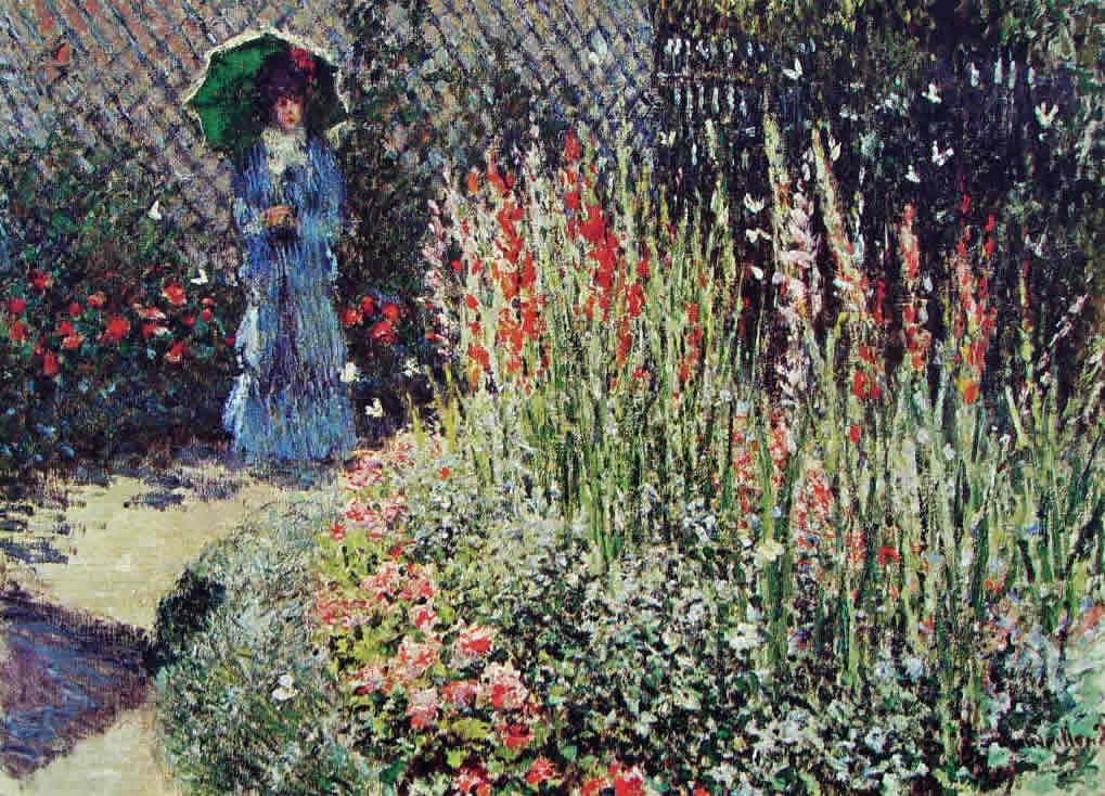 Claude Monet: Gladioli (Detroit)
