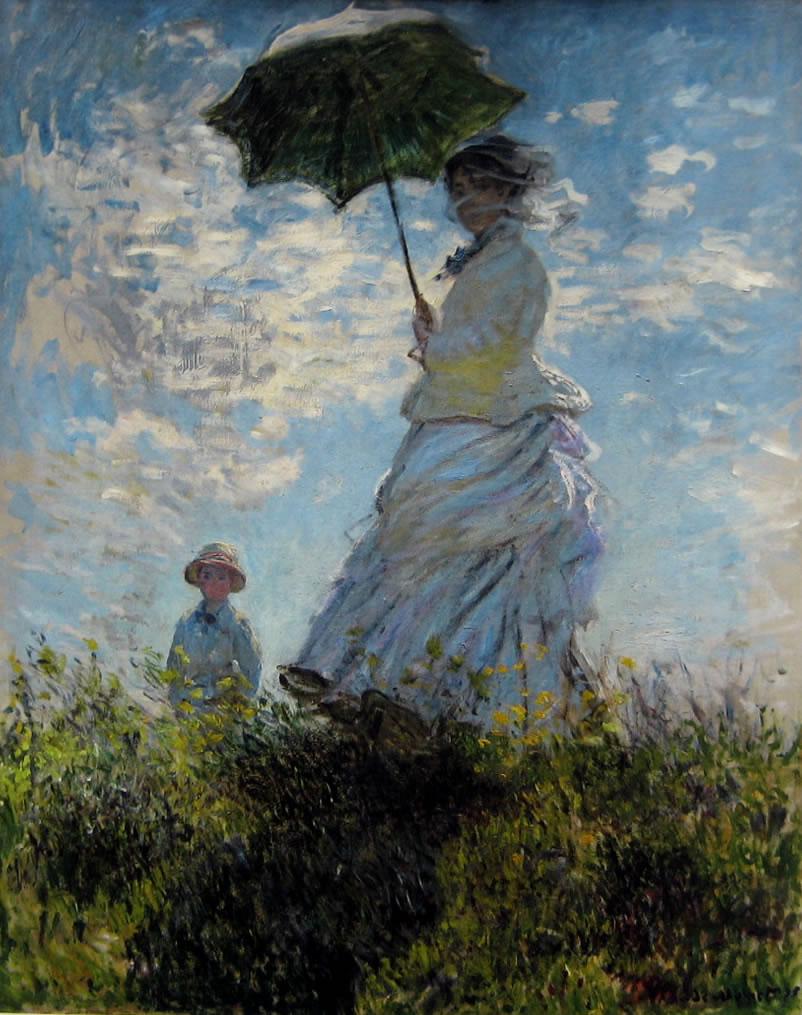 Claude Monet: Promenade (la passeggiata)