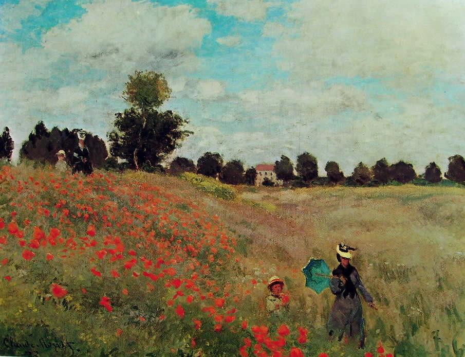 Claude Monet: Papaveri (Museo d'Orsay)