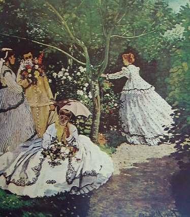 Claude Monet - Donne in giardino