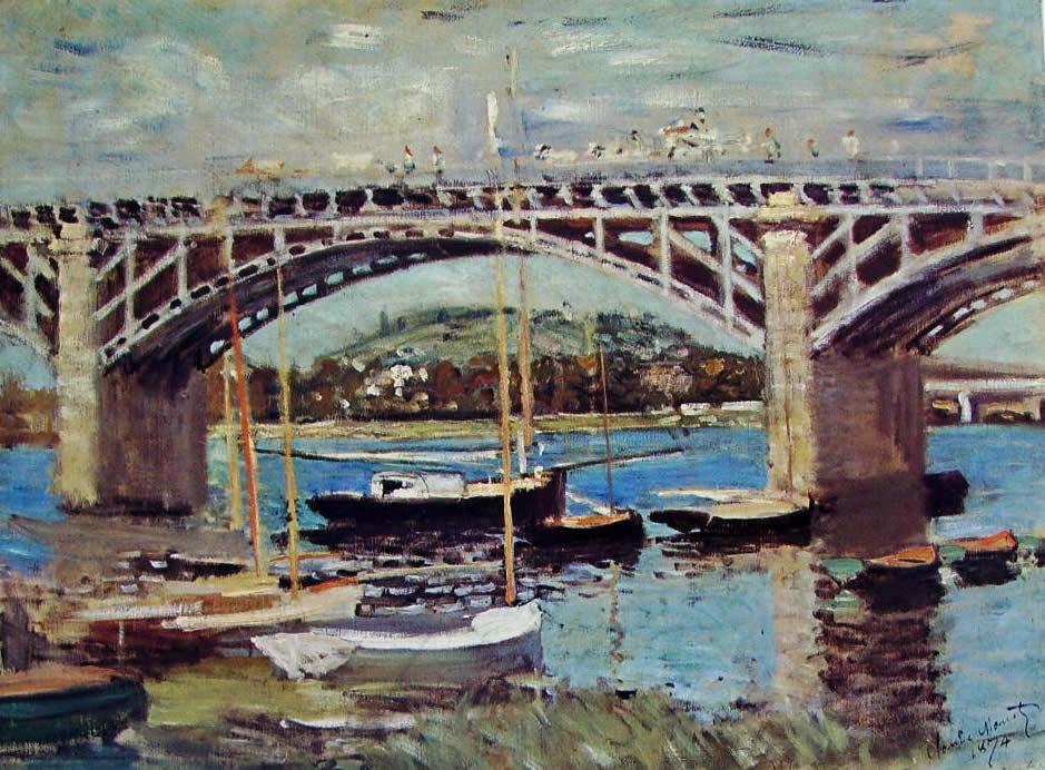 Claude Monet: Il ponte ad Argenteuil