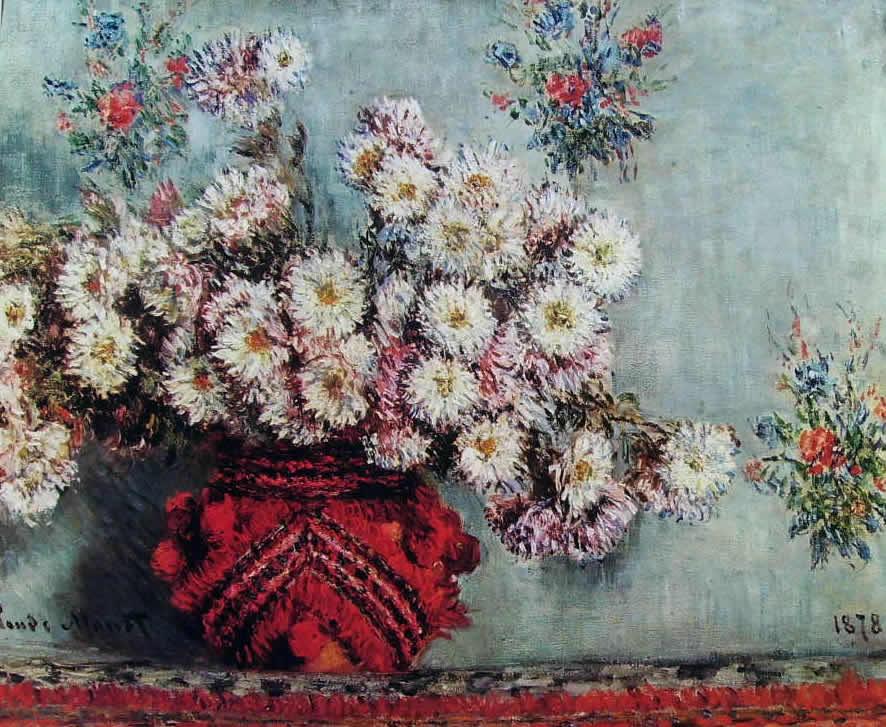 Monet - Crisantemi (Museo d'Orsay)