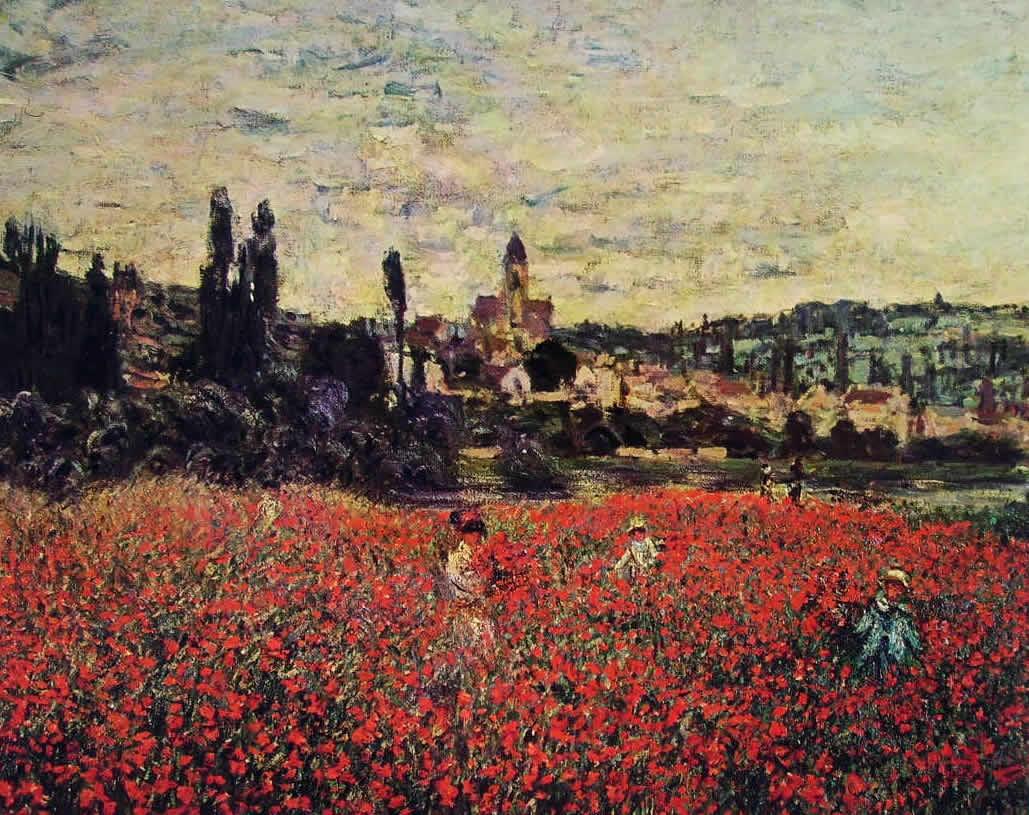 Claude Monet: Campo di papaveri presso Vetheuil
