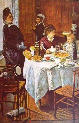 Claude Monet - A pranzo (Francoforte)