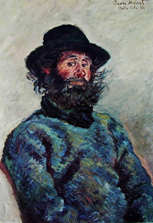 Claude Monet: Poly pescatore a Belle-Ile