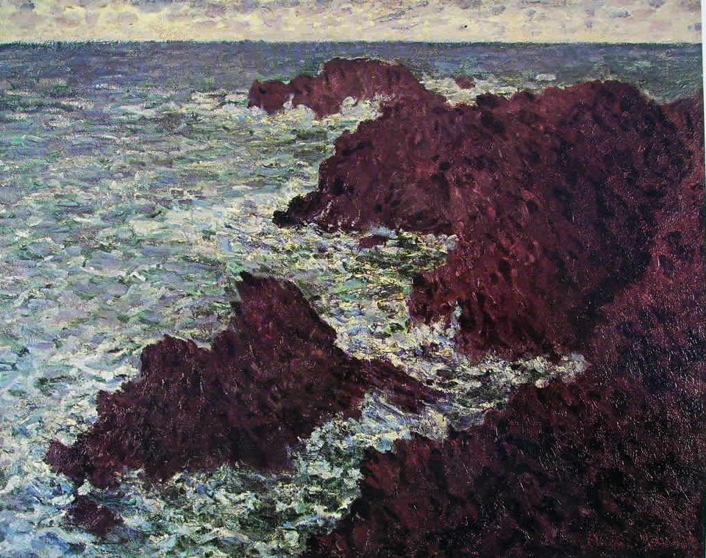 Claude Monet: Scogli a Belle-Ile