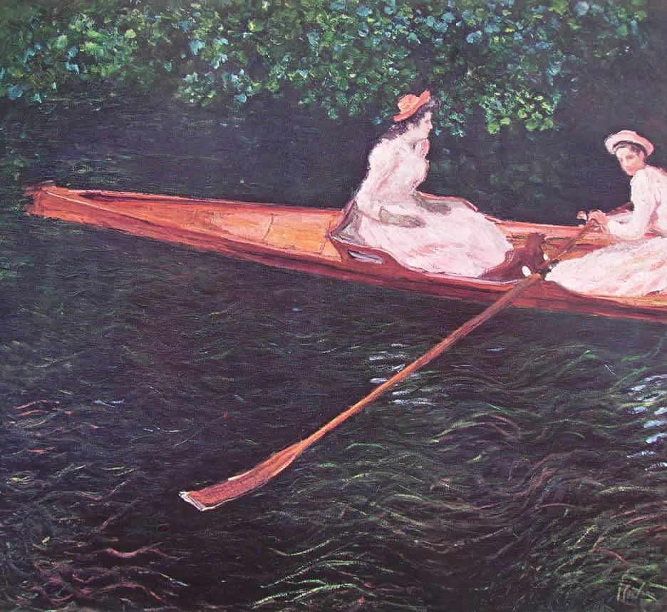 Monet: In barca sull'Epte
