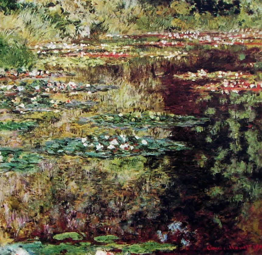 Claude Monet: Lo stagno delle ninfee