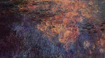 Ninfee di Claude Monet: Ninfee particolare delle Nuvole