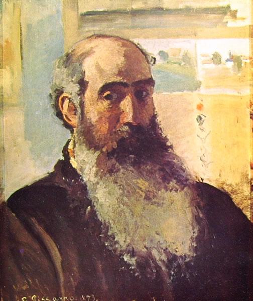 Autoritratto, 1873, Museo d'Orsay, Parigi