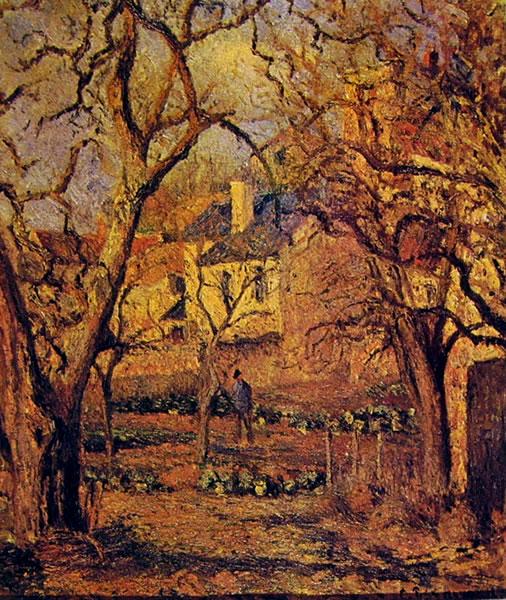 Camille Pissarro: Giardino a Pontoise