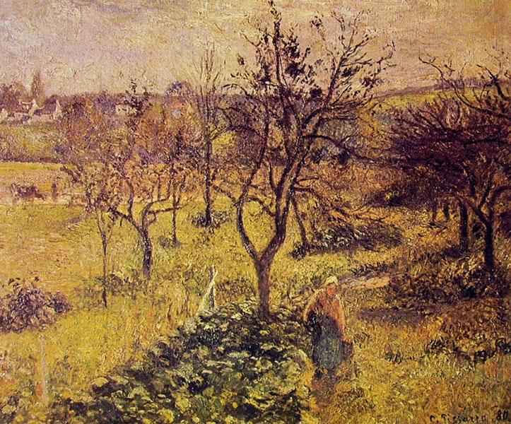 Camille Pissarro: I giardini di Valhermeil