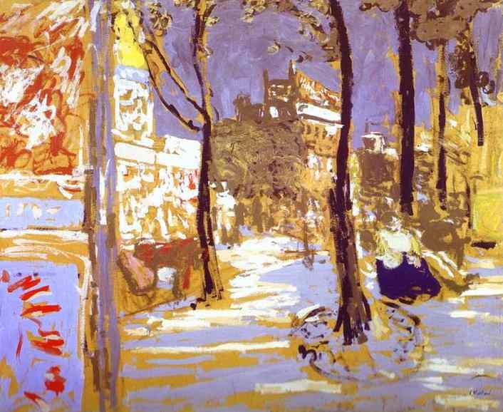 Le Boulevard des Battignolles (1910)