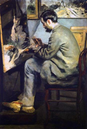Renoir - Ritratto di Bazille (Museo Fabre)