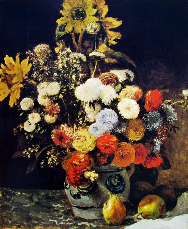 Pierre-Auguste Renoir: Fiori in un vaso (Boston)