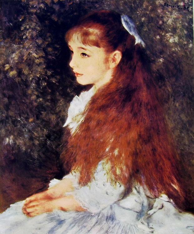 Pierre-Auguste Renoir: Ritratto di Irene Cahen d'Anversa, 1880, 65 × 54 cm Zurigo