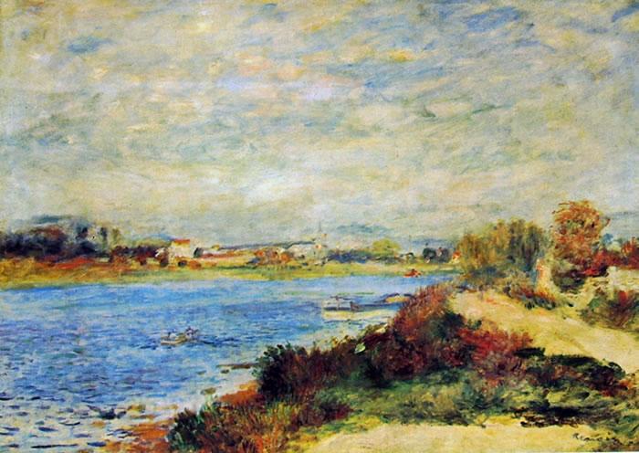 Renoir - La Senna ad Argenteuil (Museo d'Orsay)