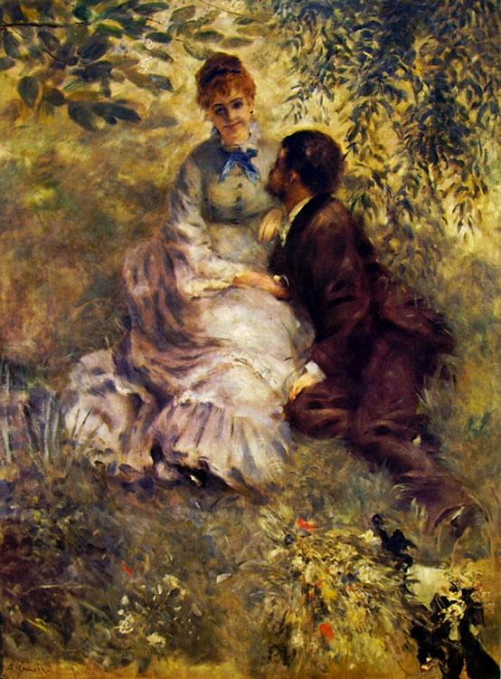 Renoir - Innamorati (Narodni Galerie)