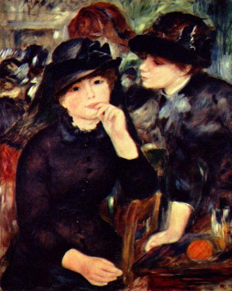 Renoir - Ragazze in nero (Museo Puskin)
