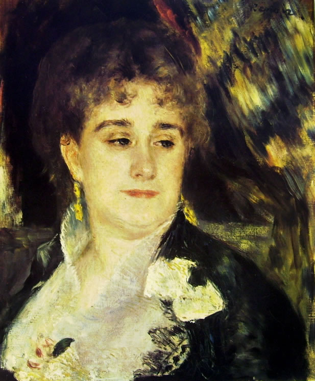 Renoir: La signora Charpentier, 46 x 38, Parigi, Museo d'Orsay